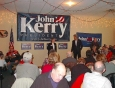 John Kerry in Onawa, Iowa