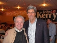 Sen. John Kerry and John Holmes