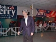 John Kerry in Sioux City, New Year's Eve, 2003