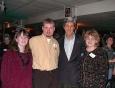 Jennifer Burgess, Bill Burgess, Sen. John Kerry, Kim Berens