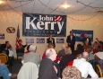 Jody Ewing introduces Sen. John Kerry