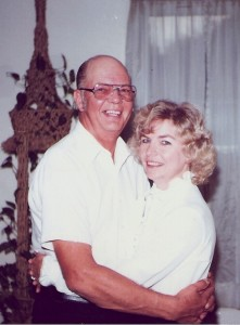 Earl and Hope Thelander when they first began dating
