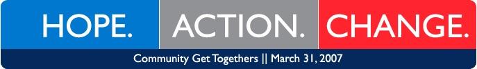 Hope Action Change banner