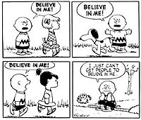 the gospel according to peanuts quotes