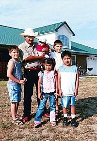 Tony Vasquez family