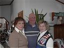 Teresa Heinz Kerry at Thelander home, Dec. 21, 2003