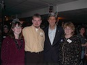 Sen. John Kerry in Onawa, Dec. 31, 2003