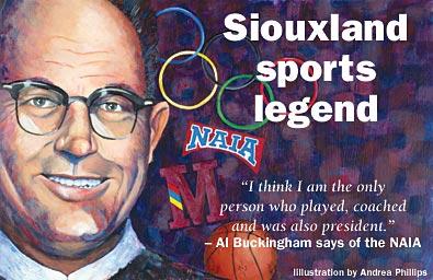 Siouxland sports legend Al Buckingham