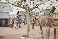 A Montenyard village